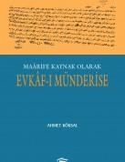 Ahmet Köksal Evkaf-ı Münderise ön kapak